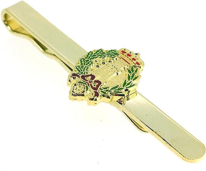 Gemelolandia Pasador de Corbata del Emblema del Arma de Ingenieros del Ejército de Tierra de España: Amazon.es: Ropa y accesorios