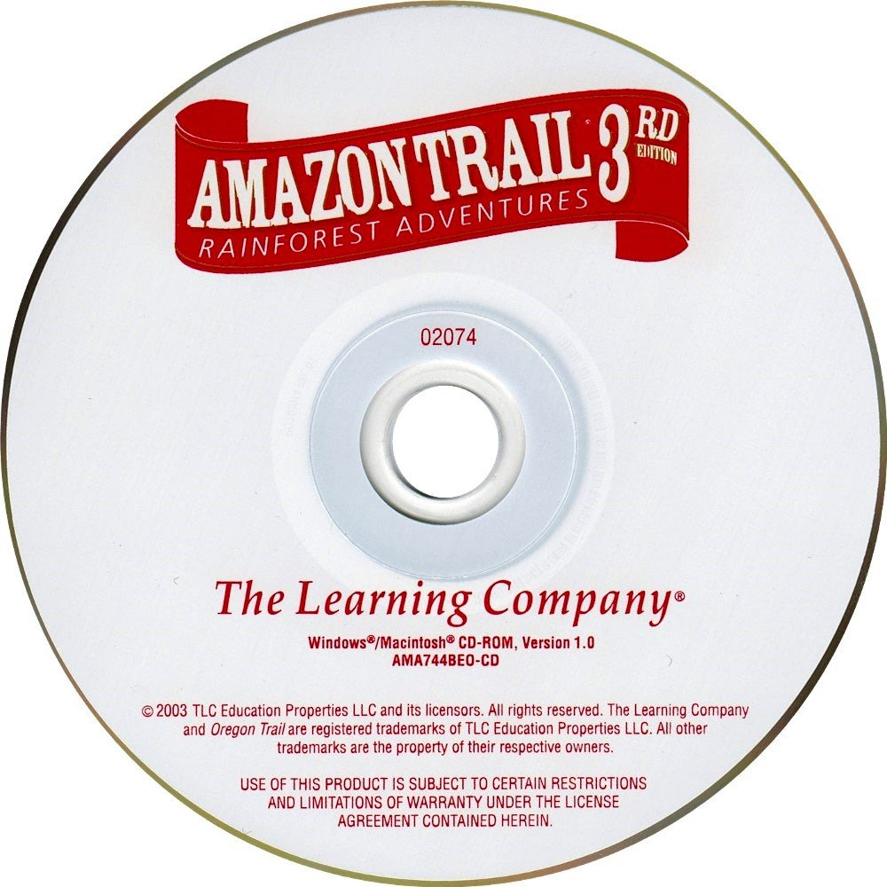 Amazon Trail 3rd Edition - PC by The Learning Company