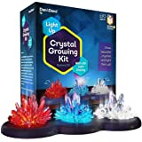 Crystal Growing Kit for Kids + LIGHT-UP Stand - Science Experiments for Kids - Crystal Science Kits - Craft Stuff Toys…