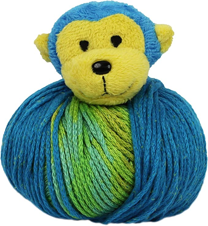 Elephant Lion Ladybug Bear Mouse More DMC Top This Child's Yarn Hat Kit Choice