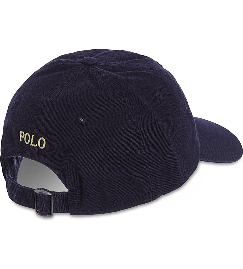 1c8cbd6a2da2b Polo Ralph Lauren Men s Classic Chino Sports Cap One Size Blue at Amazon  Men s Clothing store  Baseball Caps