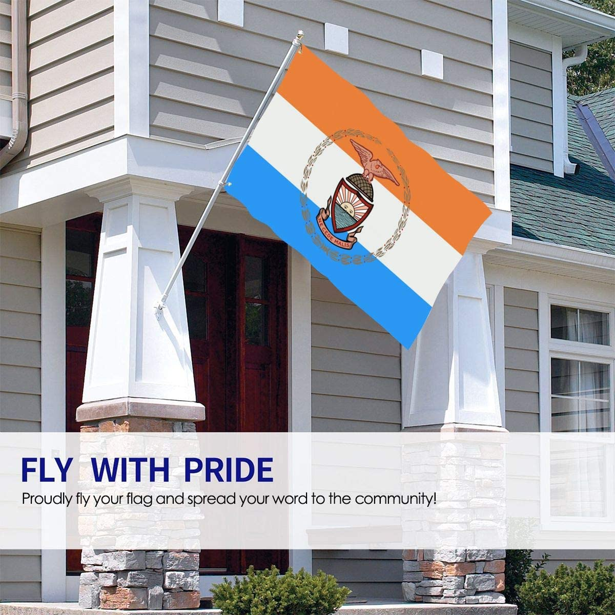 Apedes Lincoln County Maine Garage Hangar Basement Flag 2x3 Feet