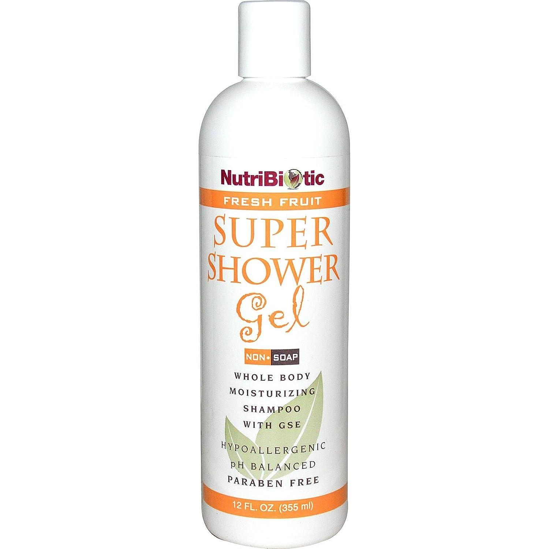 Nutribiotic Super Shower Gel, Fresh Fruit, 12 Fluid Ounce