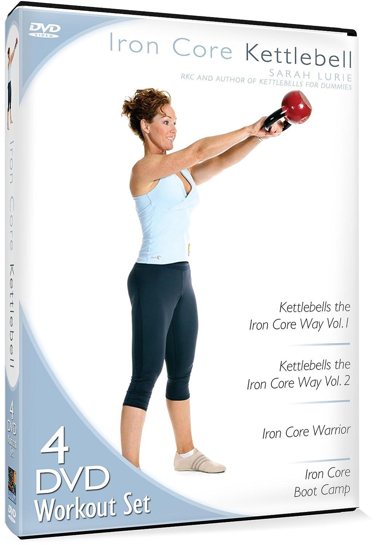 Iron Core Kettlebell Workout Sarah Lurie Various MillCreek Fitness/Self-Help