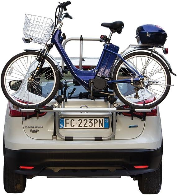 Fabbri Au36fa0609 Aluminum HeckfahrradtrÄger Bici Ok 2 Elektrobike FÜr 2 Elektrische FahrrÄder Auto