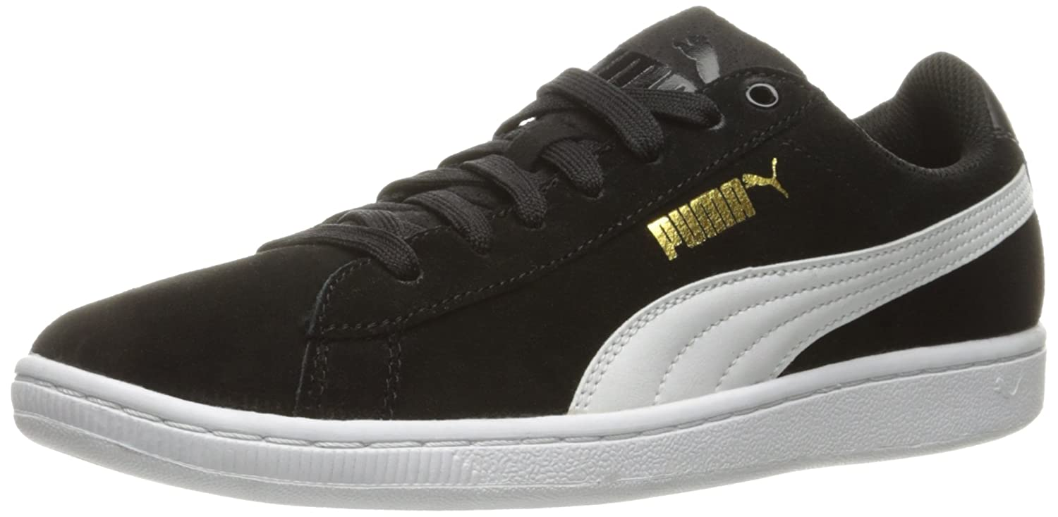 PUMA Women's Vikky Sfoam Fashion Sneaker B01EJITIW4 9 M US|Puma Black/Puma White