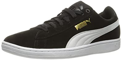 4148e1202474 PUMA Women s Vikky Sfoam Fashion Sneaker Black White