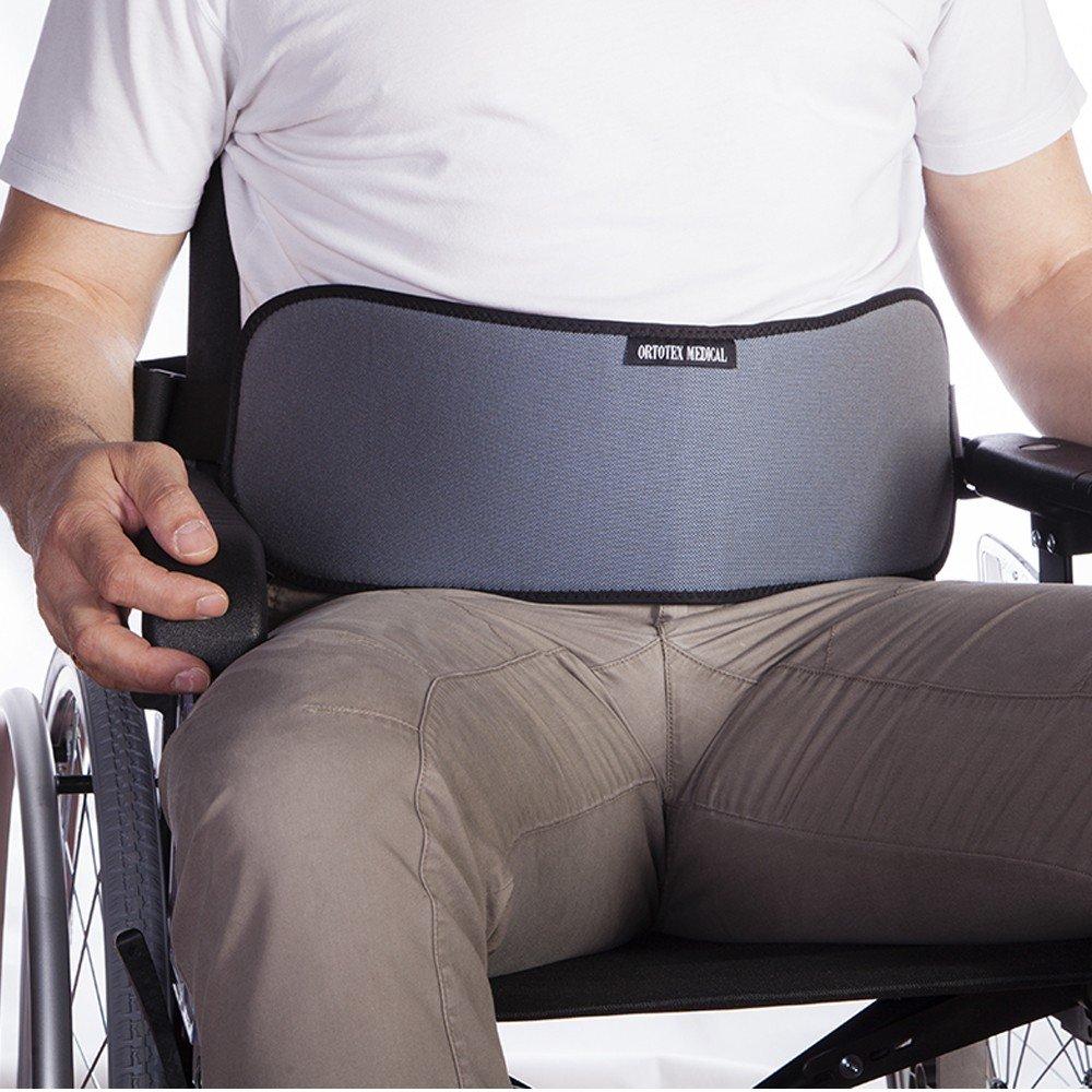 Cinturón Abdominal | para Silla de Ruedas, sillas o sillones | para Personas con Tendencia a deslizarse del Asiento | Talla 2 (96-174 cm): Amazon.es: Hogar