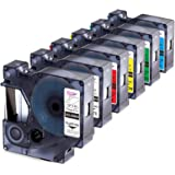 Anycolor Compatible Label Tape Replacement for DYMO 45013 45010 45016 45017 45018 45019 Label Maker Tape Work with DYMO 160 2