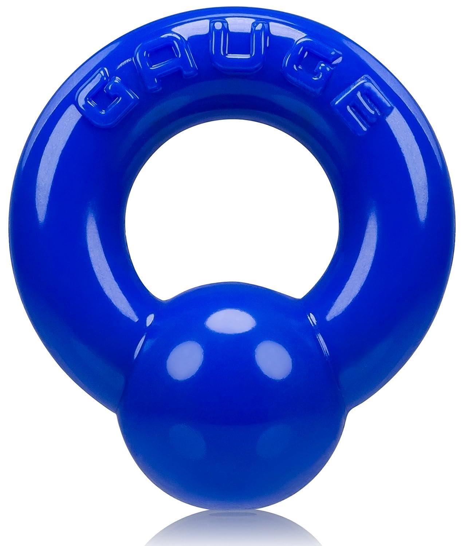 Oxballs Gauge gr Cockring Anillo de Pene, Azul - 100 gr Gauge b48061