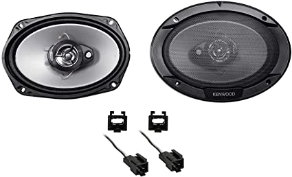 """Autotek 6x9/"""" Rear Factory Speaker Replacement Kit For 1996-2006 Chrysler Sebring"""