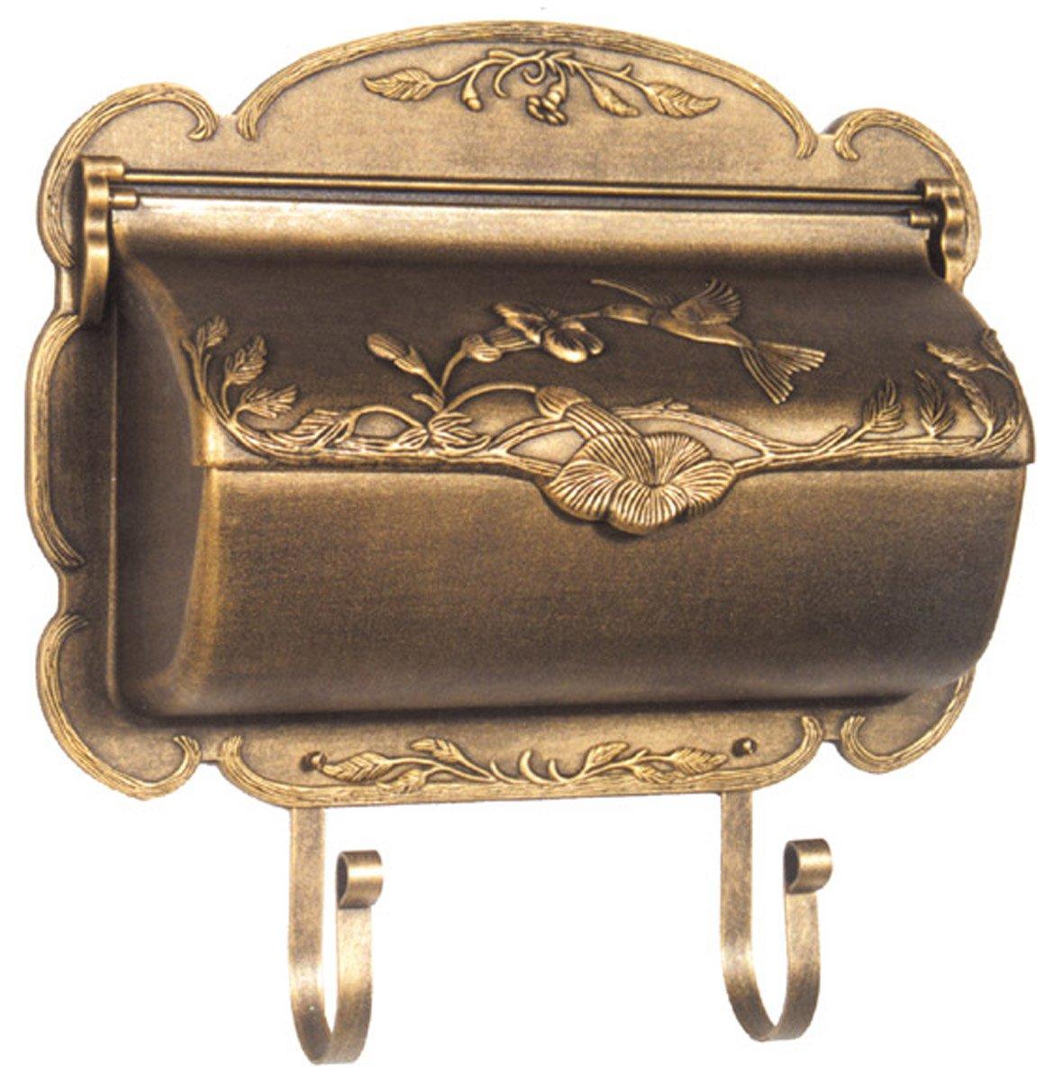Special Lite Products SHB-1004-BRZ Hummingbird Horizontal Mailbox, Bronze