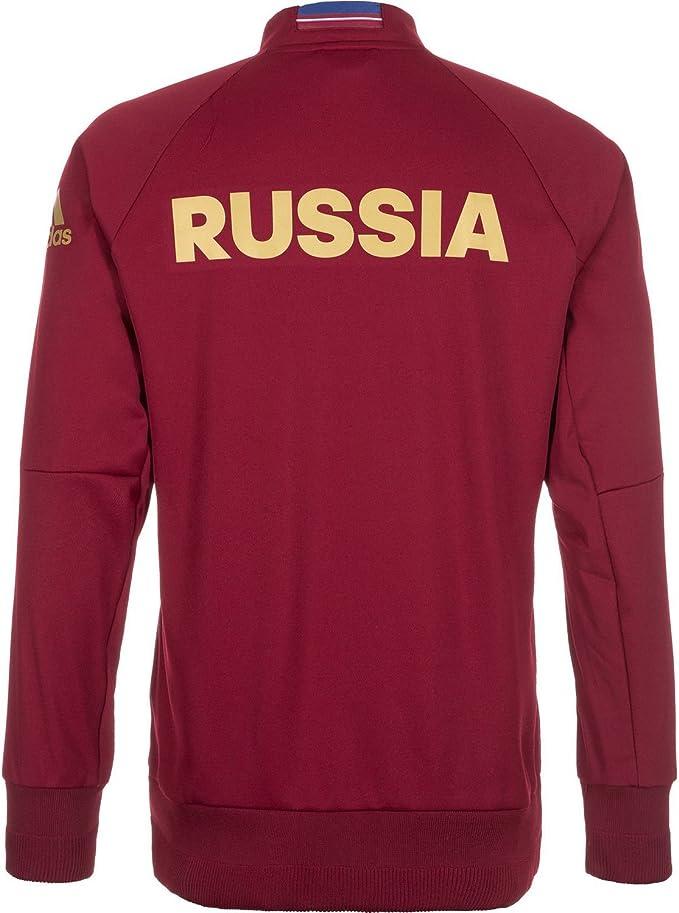 Adidas UEFA EURO 2016 Rusia Chaqueta Chándal Himno (US TAMAÑO) (S ...