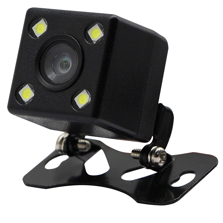 Lemeng 5558990340 Trucks 4 LED SUV Vehicles CERRXIAN Waterproof Car Backup Camera Universal Reverse Camera 170 Degree HD Rear View for Cars Van