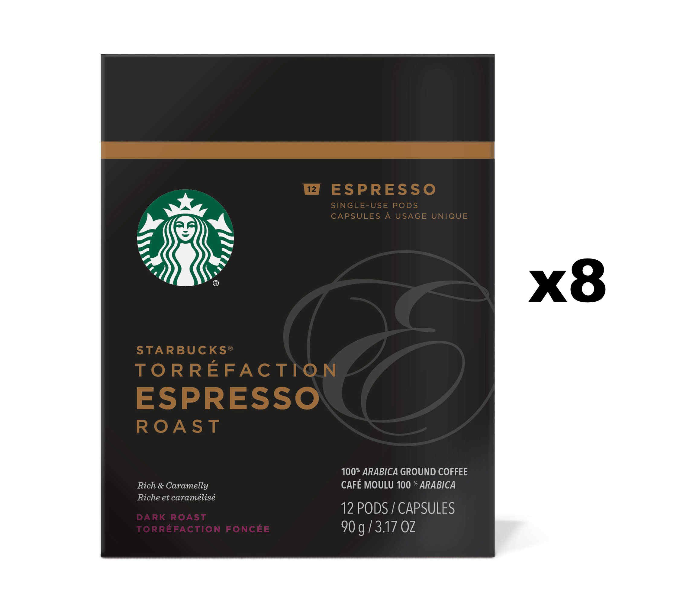 Starbucks Verismo Espresso Roast Espresso Pods
