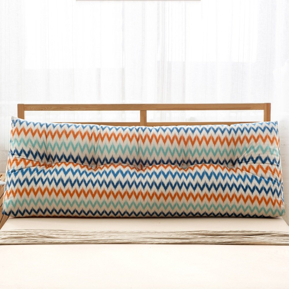 Cotton Pillow On The Sofa Triangular Big Pillow ( Color : 2 , Size : 2250120cm )