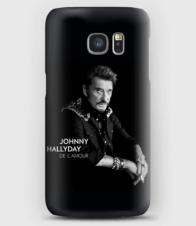 Coque Samsung S5, S6, S7, S8,S9, A3, A5, A7,A8, J3,J5, Note 4,5,8,9, Grand prime, De l'amour Johnny Hallyday