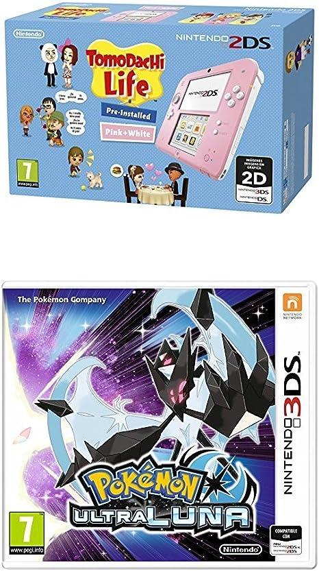 Nintendo 2DS - Consola, Color Rosa + Tomodachi Life (Preinstalado ...