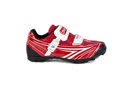 Spiuk Risko MTB - Zapatilla de ciclismo unisex, color rojo / blanco, talla 40: Amazon.es: Zapatos y complementos