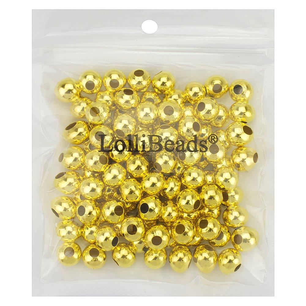 Separador de joyas redondo abalorios de metal R lollibeads