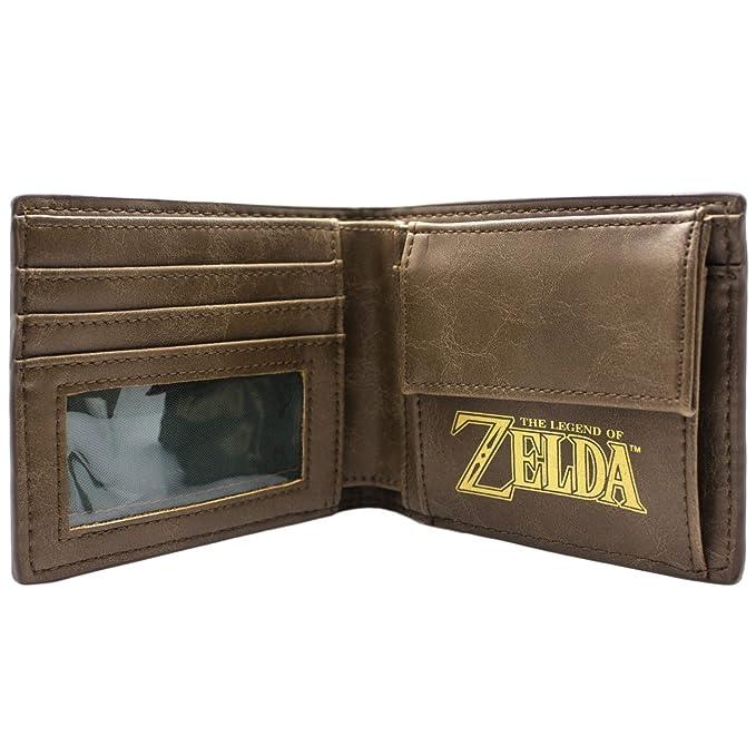 Cartera de Zelda A Link to the Past traje Verde: Amazon.es ...