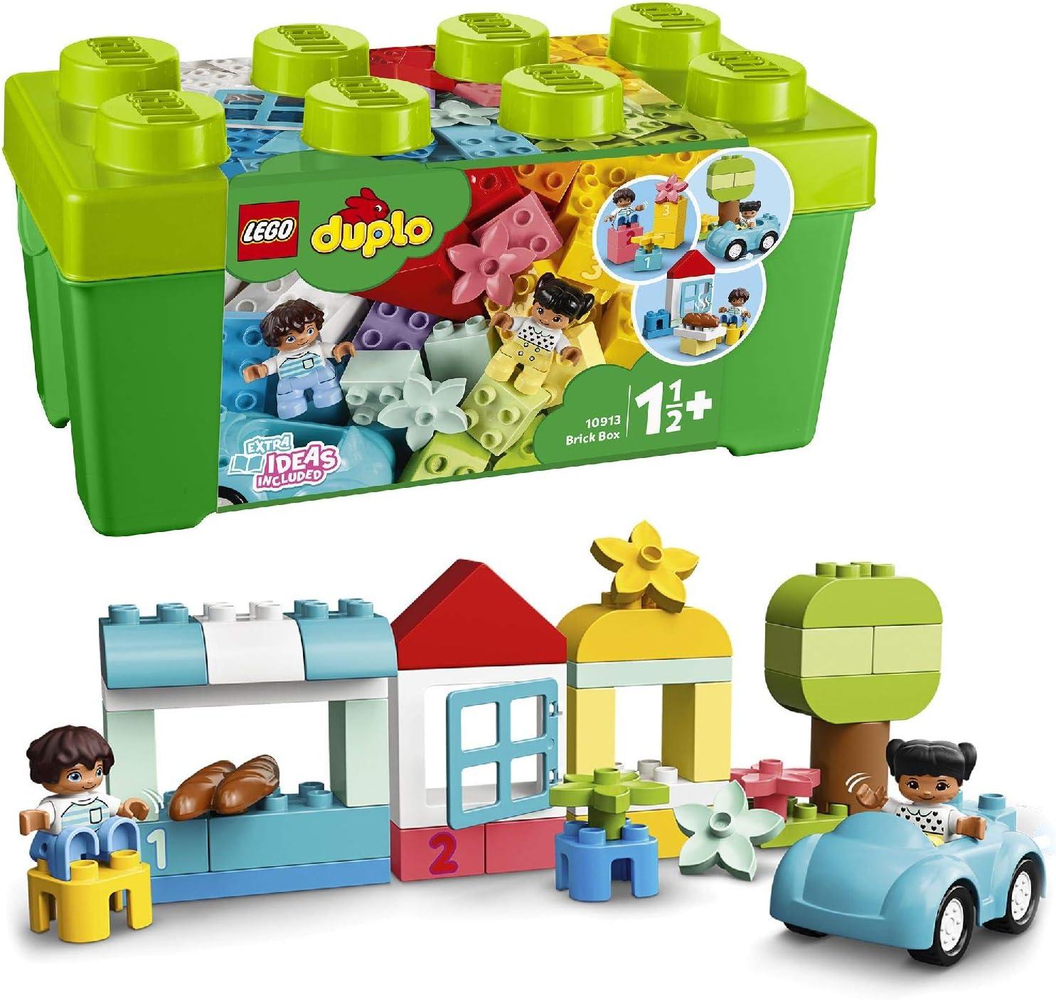 ORIGINALE LEGO-Duplo morbido-COPPIA meccanicamente controllabili come nuovo