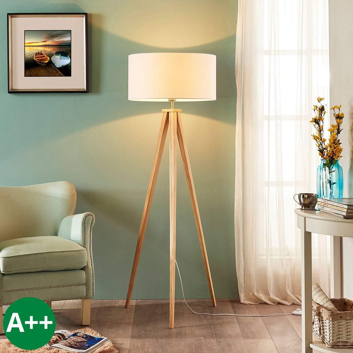 Lampenwelt Dreibeinige Stehlampe