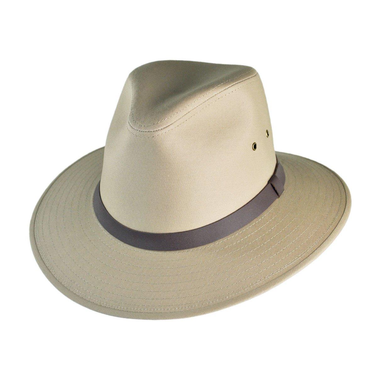 Jaxon Cotton Safari Hat (X-Large, British Tan)