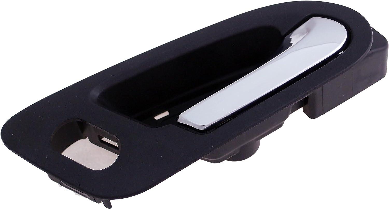 Black and Chrome Dorman 82646 Rear Passenger Side Interior Door Handle for Select Chevrolet//Saturn Models