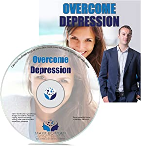How To Deal With And Overcome Depression Self Hypnosis CD / MP3 and APP (3 IN 1 PURCHASE!) - Hypnotherapy CD Natural Treatment for Depression