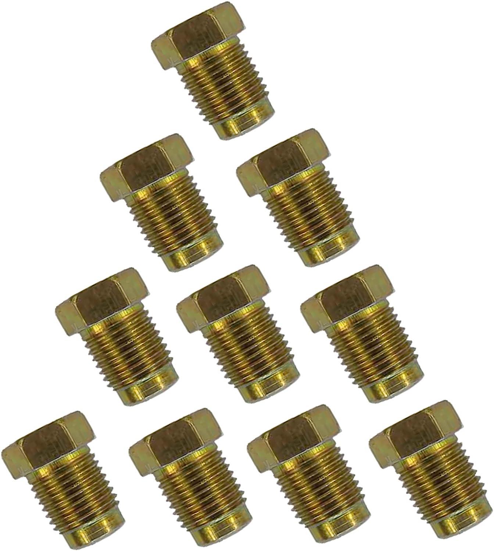 "Copper Nickel Kunifer Brake Pipe 25ft 3//16/"" 18 x Metric Short Male Female Ends"
