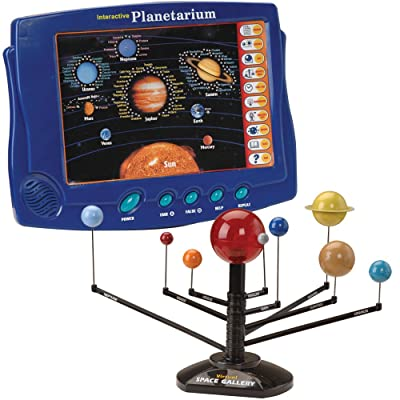CP Toys Interactive Planetarium Board with over 1000 Trivia Questions and 3-D Solar System : Electronic Learning Toys : Baby