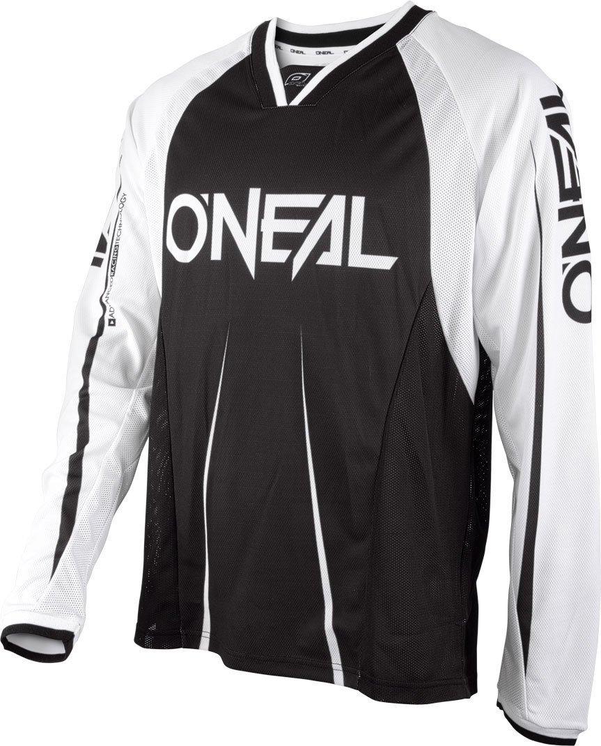 Oneal black-white 2018要素FR Blocker長袖MTBジャージ(XL、ブラック)   B074DWTYN6