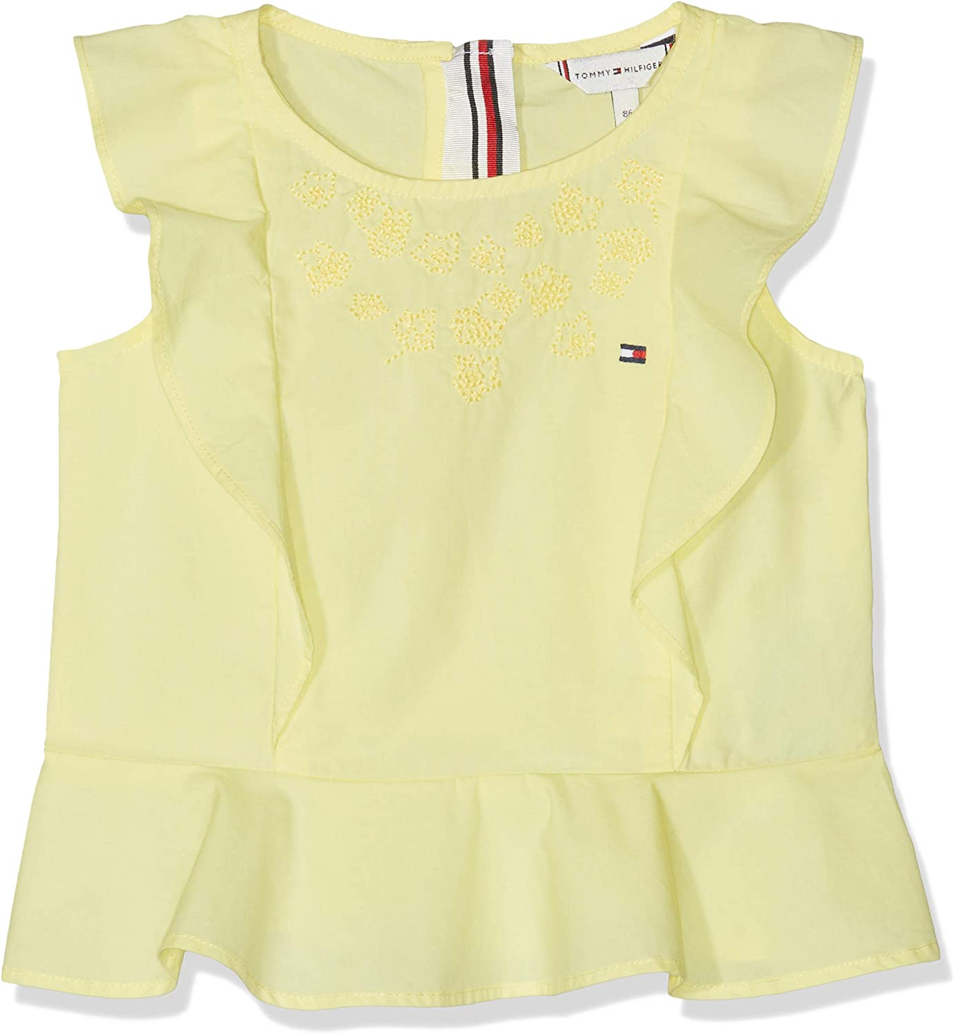 Tommy Hilfiger Baby Girls Endearing Embroidered Top S//S Vest