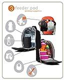 PacaPod Prescott Black Designer Baby Changing Bag