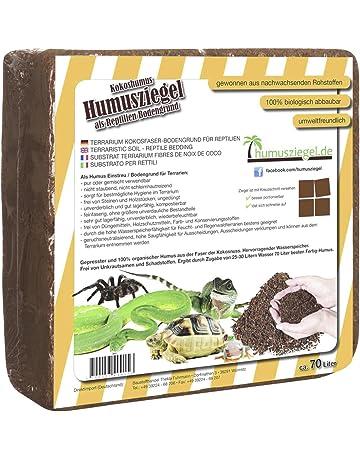 70 L bloque de coco basura para reptiles, terrario sustrato terrario, cama, suelo