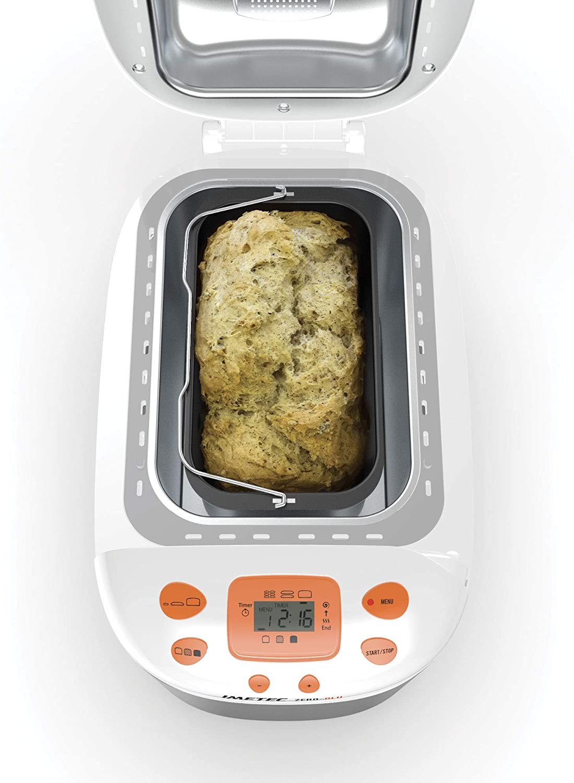 Imetec Zero-Glu - Panificadora, 20 Programas Pan y Dulces, sin ...