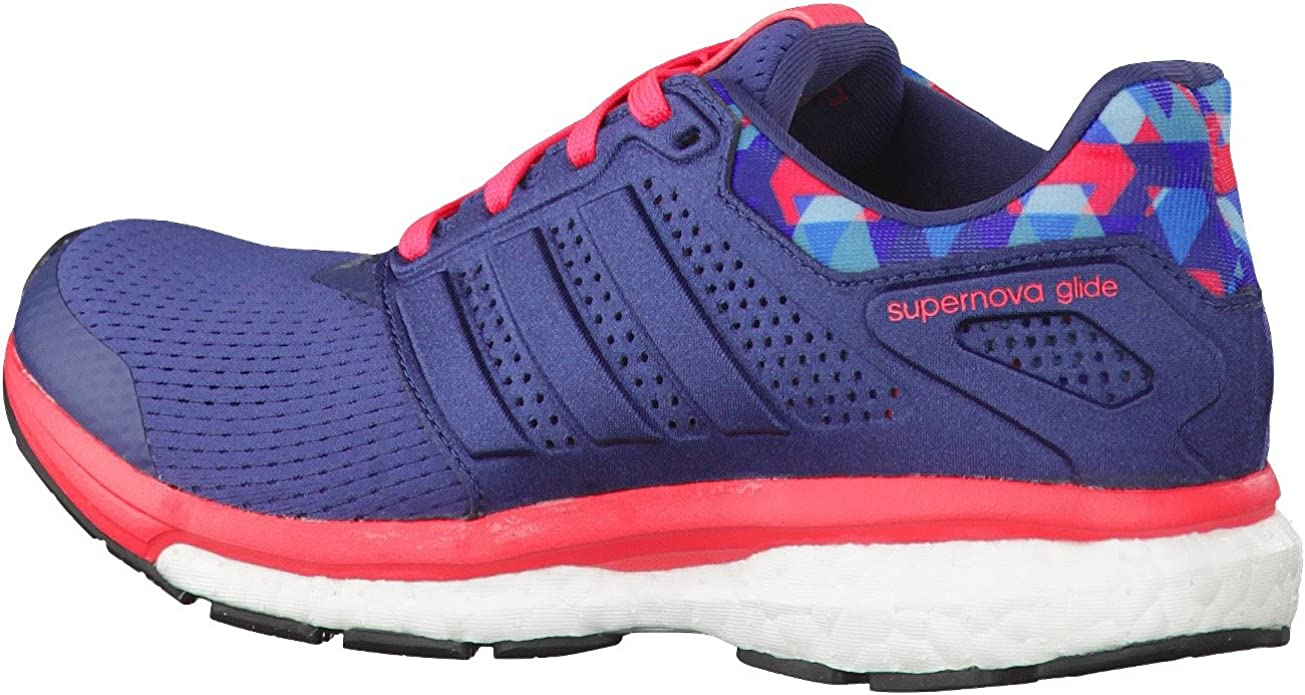 Currículum Él mismo Deambular  Amazon.com | adidas Supernova Glide 8 GFX W AQ5059 Womens Shoes Size: 5 US  Blue | Running