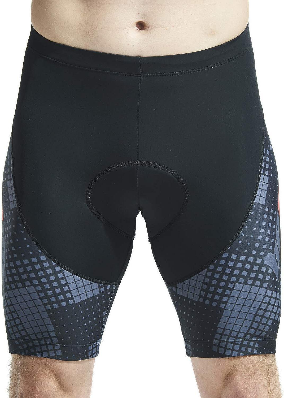 Mens Cycling Shorts Padded Bicycle Bike Pants Clothes Cycle Wear Tights
