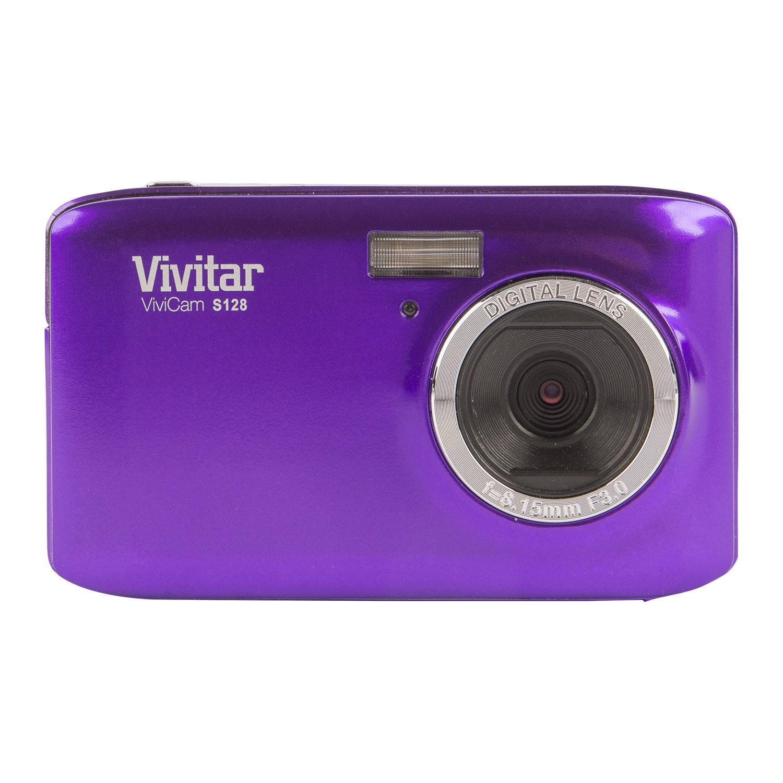 Vivitar VS128 16.1 MP ViviCam iTwist Digital Camera, Color May Vary by Vivitar