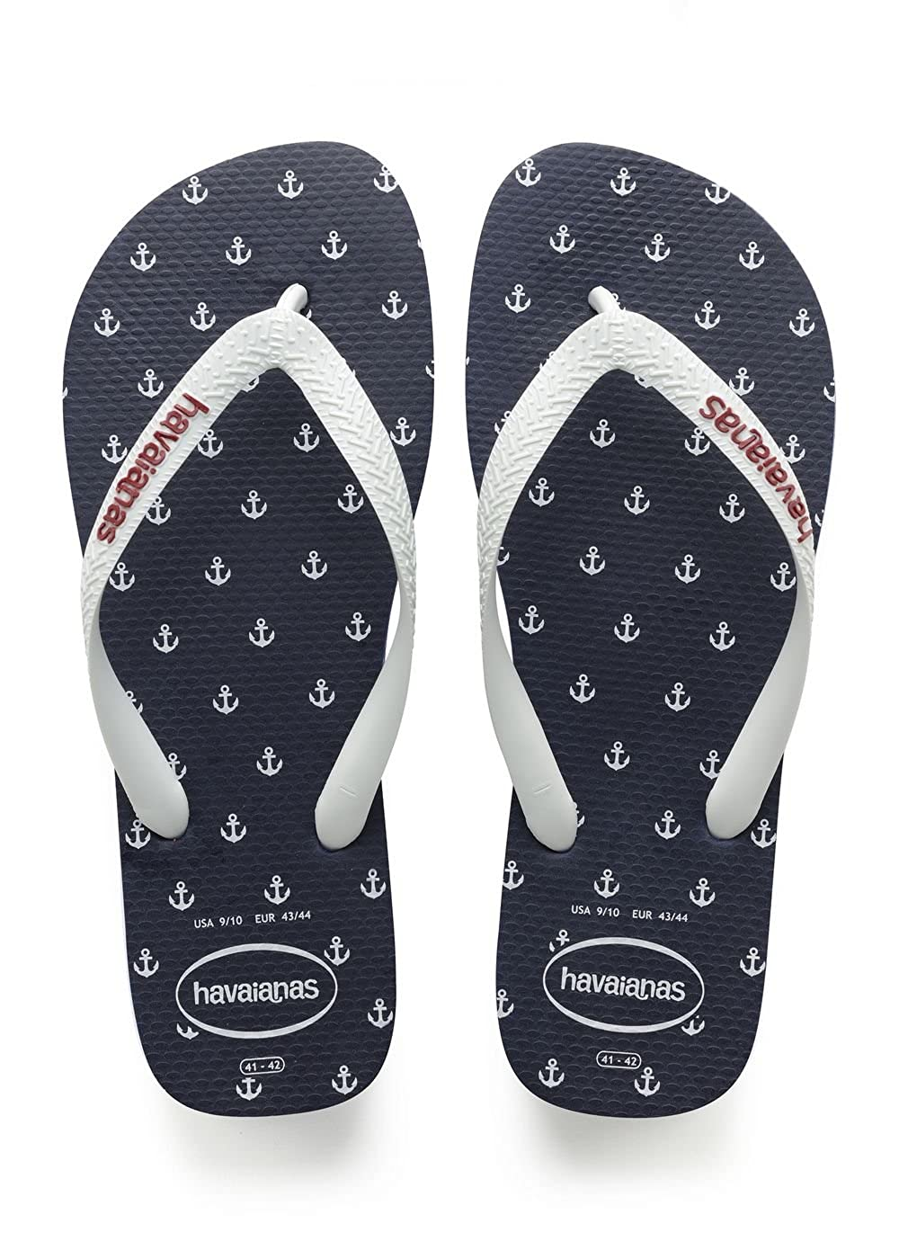 TALLA 45/46 EU (43/44 Brazilian). Havaianas Top Nautical, Chanclas para Hombre