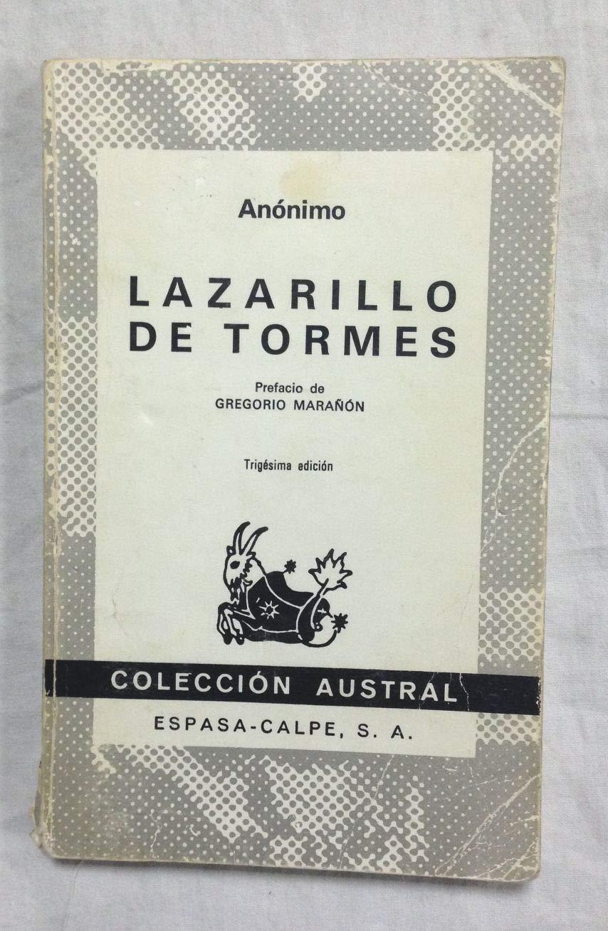 Lazarillo De Tormes Prefacio De Gregorio Marañón Amazones