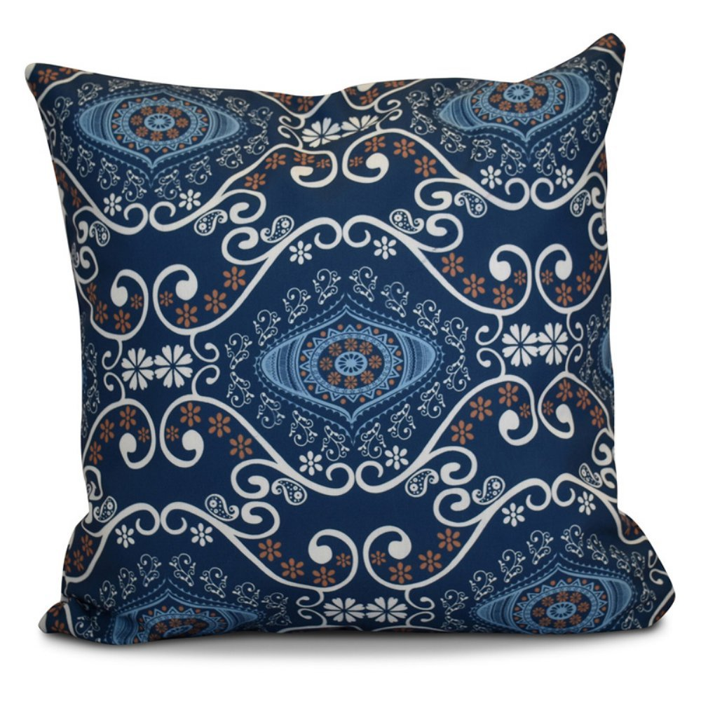 E by design O5PGN727GR33-16 Printed Outdoor Pillow