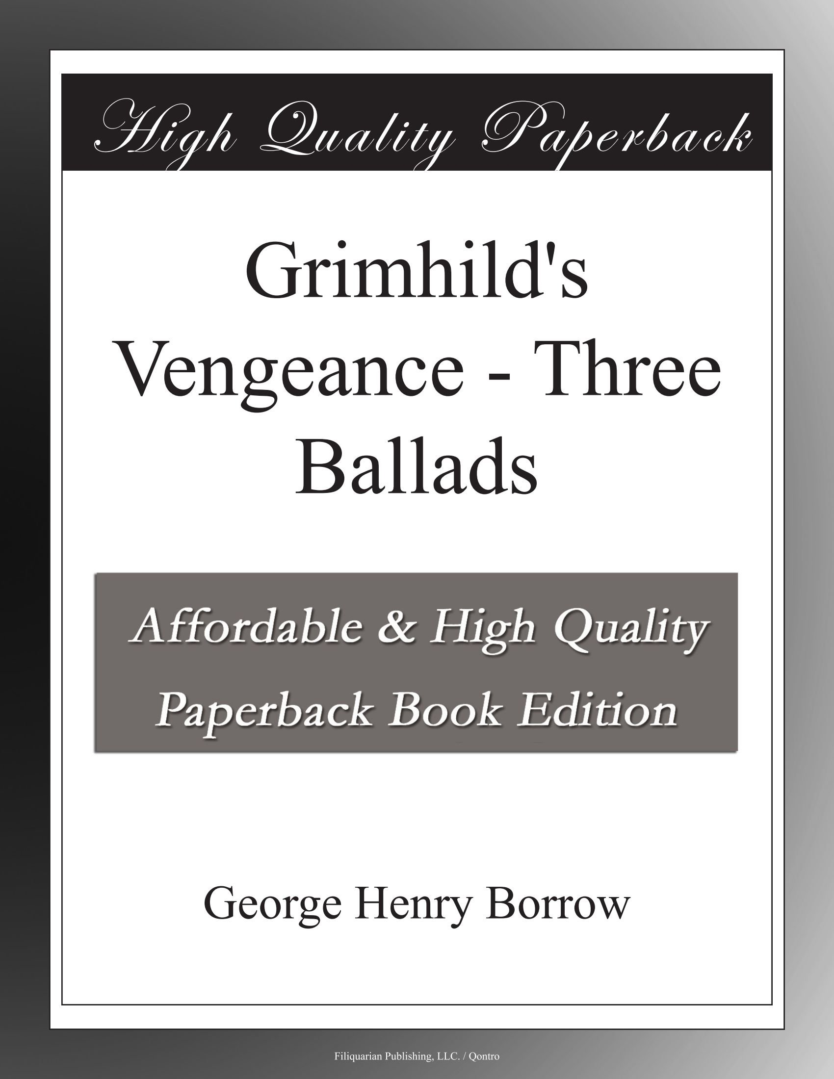Download Grimhild's Vengeance - Three Ballads pdf epub