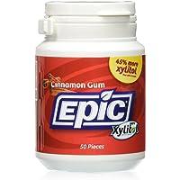 Epic Dental Xylitol Gum Cinnamon, Cinnamon 50 Ct