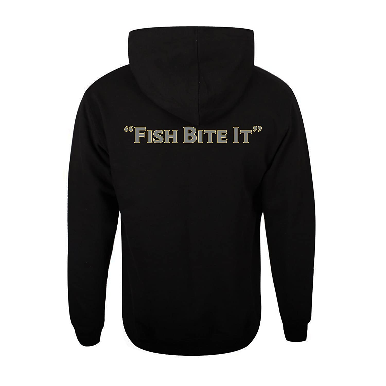 SteelShad Hoodie Plus a Free Steel Shad Fishing Lure Black