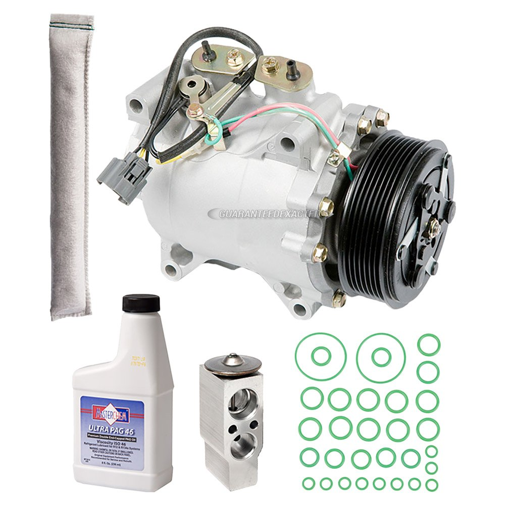 New Ac Compressor Clutch With Complete A C Repair Kit Element Assemblies Parts Diagram Car For Acura Tsx Buyautoparts 60 80405rk Automotive