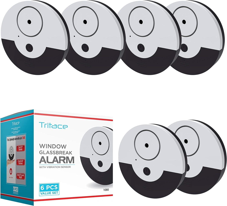 tritace Ventana Alarma con Vibración Sensores Juego | 130 dB ...
