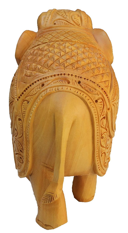 SouvNear Elefanten Tiere Deko Figuren     Skulpturen   Statuen - handgefertigte dekorative Massiv aus Holz Elefanten Indien, dekorative Tierfiguren und Tierstatuen - Elefant-Figur Wohnaccessoires und Dekorationen - Hause Dekor & Geschenkartikel 97f7c8