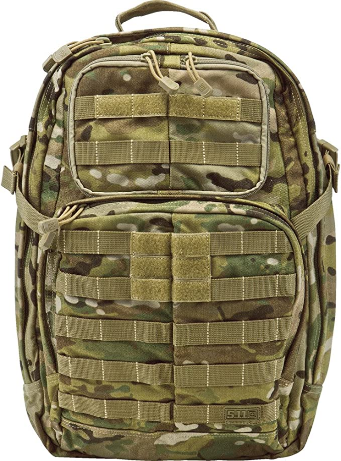 best range bags: 5.11 Tactical RUSH24 Military Backpack, Molle Bag Rucksack Pack, 37 Liter Medium, Style 58601